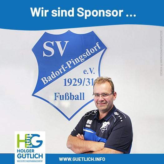 Wir sind Sponsor …